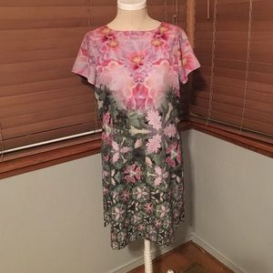 Ted Baker Floral Tunic Dress.