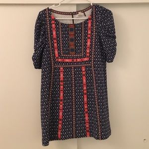 Anthropologie embroidered Indian style dress