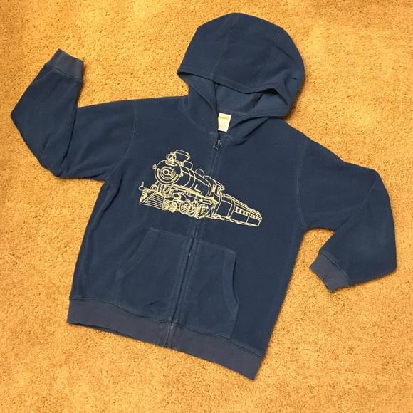 NWT Boy/'s Gymboree LITTLE PICKUP TRUCK Hooded Zip Front Sweater