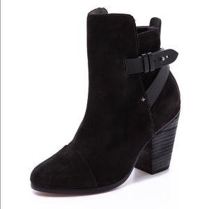 Rag & Bone Kinsey boot in black suede