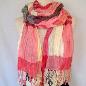 2for1 LARGE Plaid Scarf