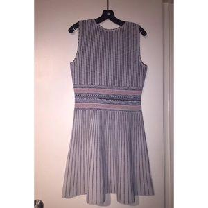 BCBGMaxAzria Dresses - Bcbg Wilma Haze woodblock fit and flare dress NWT