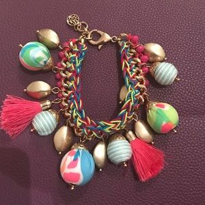 Lilly Pulitzer Jewelry - RARE!! Lilly Pulitzer Vero bauble bracelet