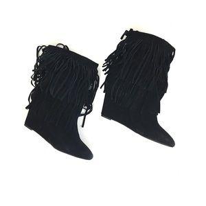 Denim & Supply Ralph Lauren Shoes - Ralph Lauren denim supply distressed fringe boots