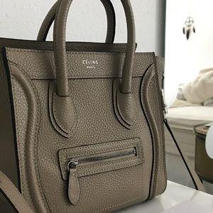 Celine Handbags - Celine nano luggage