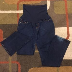 Indigo Blue Denim - Indigo Blue maternity XL Long jeans.