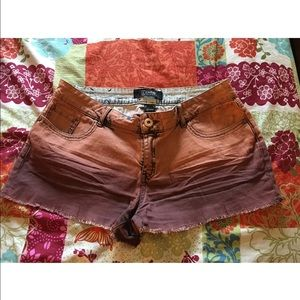 Rewash Pants - Orange Rewash Size 11/11 Mini Shorts