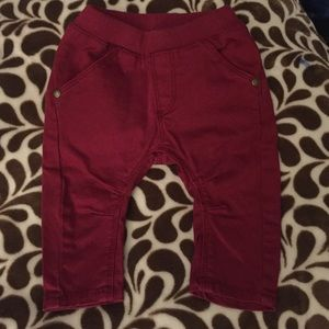 Imps & Elfs Other - IMPS & ELFS red pants. 6-9 mos. Worn 1 time!!