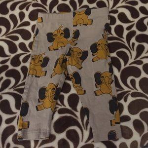 Mini Rodini Other - Mini Rodini organic elephant leggings. 0-6 mos