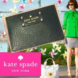 KATE SPADE Wellesley Leather Card Wallet