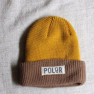 Poler Accessories - Poler Yellow Beanie