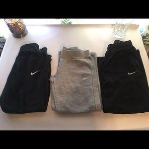 Nike Other - Lot of 3 Kid's Nike Sweatpants