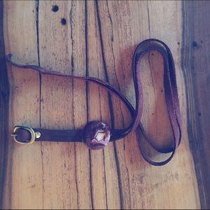 Jewelry - Deep Purple ❤️🙌🏻 leather wrap-around bracelet