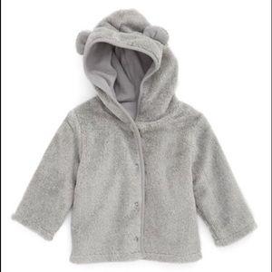 Nordstrom Baby Other - Grey Nordstrom baby animal fleece