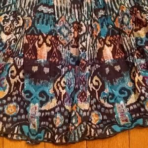 My Michelle Dresses & Skirts - Beautiful Batik Print Flirty Skirt