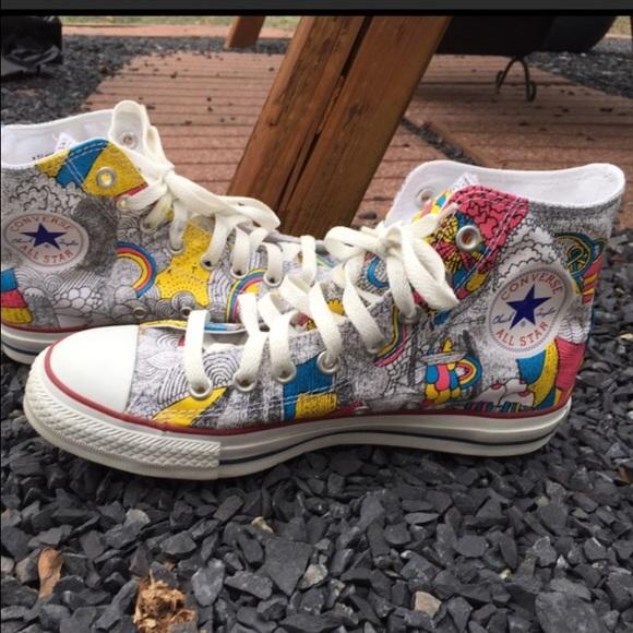 0dba1ffda9a76d Converse Shoes - Converse Chuck Taylor Artist Series Hi Top Sneaker
