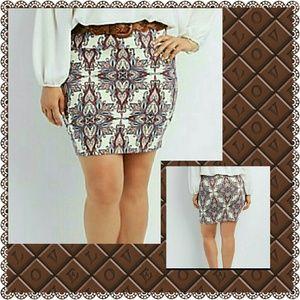 Dresses & Skirts - PLUS SIZE BODY CON MINI