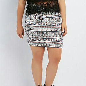 Dresses & Skirts - PRINTED MINI SKIRT