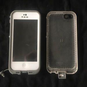 LifeProof Accessories - White iPhone 5/5s Lifeproof case
