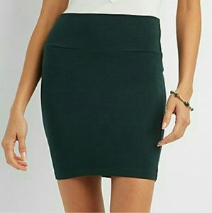 Dresses & Skirts - SOLID MINI SKIRT