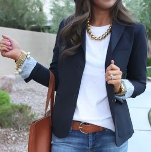 Gap Navy Blue Academy Blazer