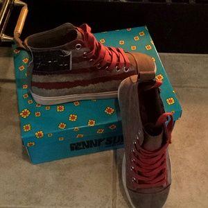 Penny Sue Shoes - Patriotic sneakers