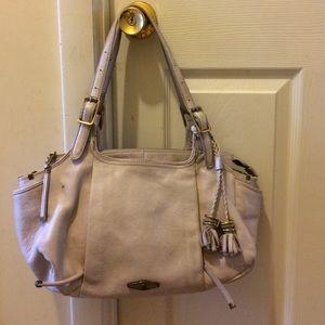 Elliot Lucas leather handbag with tassels
