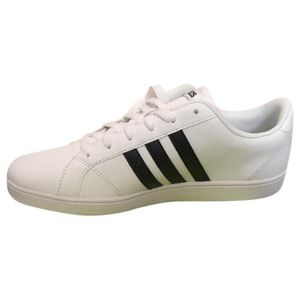 Adidas Shoes - Adidas baseline white sneakers women's size 8