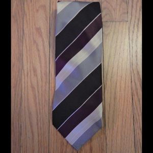 Adolfo Other - Adolfo Purple and Gray Tie