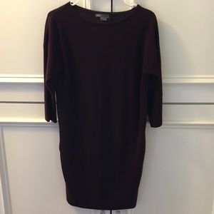 Burgundy Vince Dress