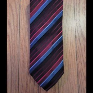 Alexander Julian Other - Red and Blue Striped Tie