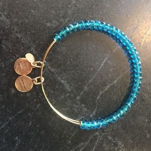 Jewelry - Alex & Ani Blue Beaded Bangle