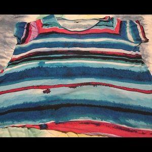 Colorful striped Avenue blouse