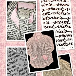 PINK Victoria's Secret Other - PINK VS LTD BOYFRIEND LONG SLEEVE FLANNEL GOWN  XS