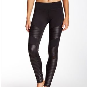 Electric Yoga Pants - SALE! Electric Yoga Motorcycle Pants - Black