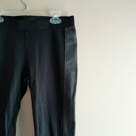 Pants - SOLD - Black Faux Leather Leggings - Sz M