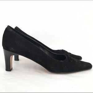 Vaneli Shoes - Vaneli Trendy Suede Pumps