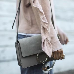 kate spade Handbags - Grey bag with gold hardware
