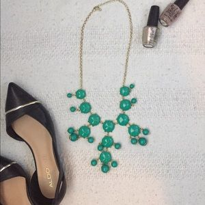 Green/Teal Statement Necklace