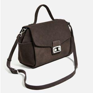  HOST PICK  ZARA leather city bag