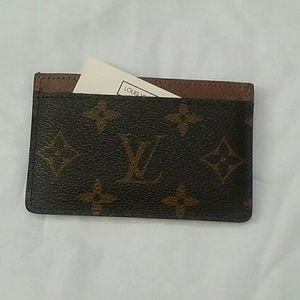 Louis Vuitton Other - Louis Vuitton card holder