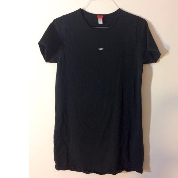 vintage vintage 1990s esprit babydoll tshirt dress from