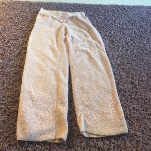 PJ Salvage Other - Pink fuzzy pants