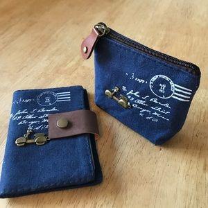 Handbags - Motor Scooter Coin Purse & Card Wallet Set