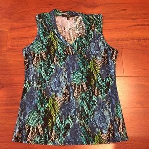 Alex Marie Tops - Alex Marie Sleeveless blouse. EUC. Size S
