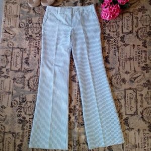 J. CREW CITY FIT WIDE LEG PANTS EUC