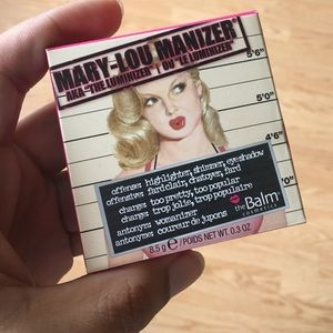 Mary-Lou Manizer highlighter by theBalm