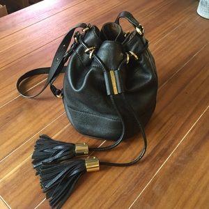 See by Chloe Handbags - See by Chloe Black Bucket Bag with Tassles
