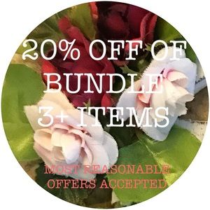 Other - 20% OFF OF BUNDLE 3+ ITEMS