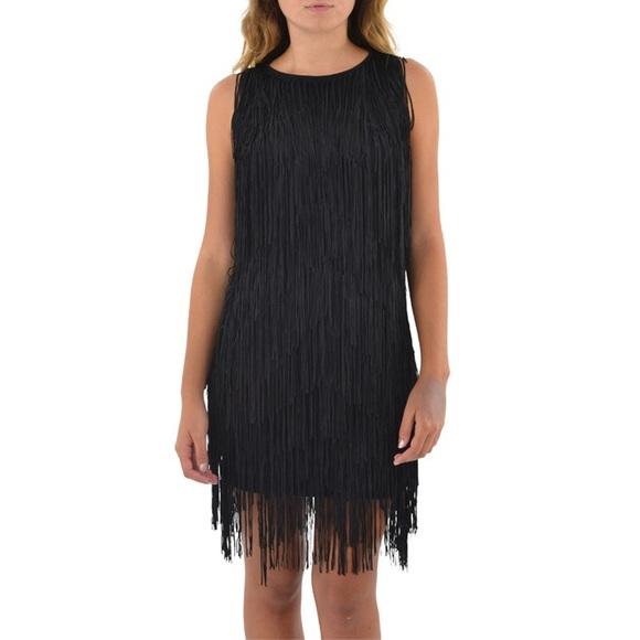Ella Moss Dresses & Skirts - Ella Moss Fringe Dress